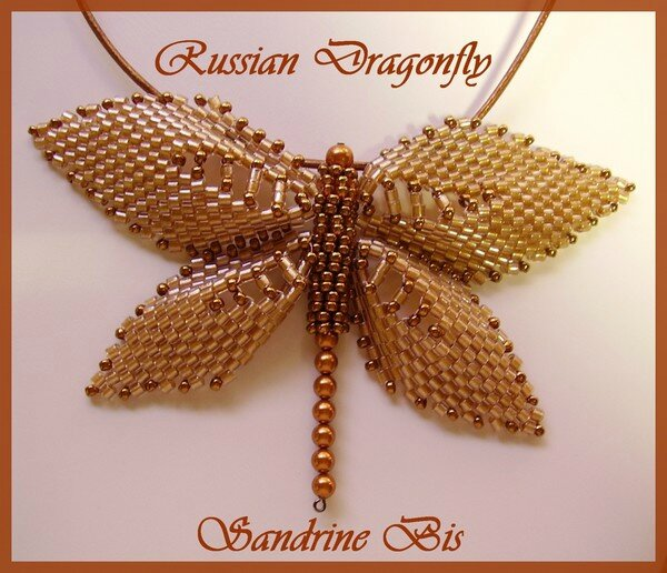 Russian Dragonfly marron 1