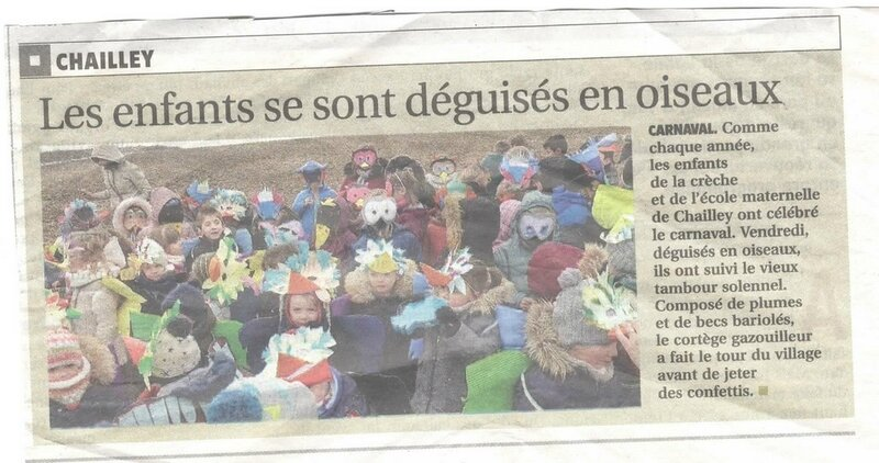 A article journal carnaval