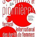 Ce week-end, 6ème festival des écrits de femmes à st sauveur