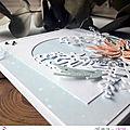 4enscrap ... carte avec feuillage hivernal