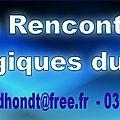 Premiere reunion des rencontres ufologiques du nord le 17 janvier 2015 a roubaix