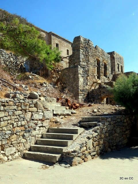 Spinalonga - l'île des lèpreux - Crète