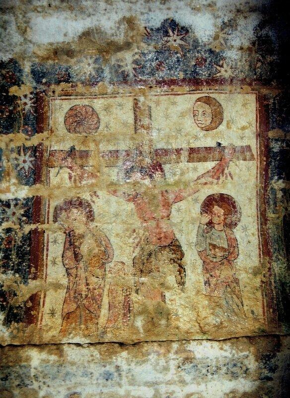 fresque église roquemartine