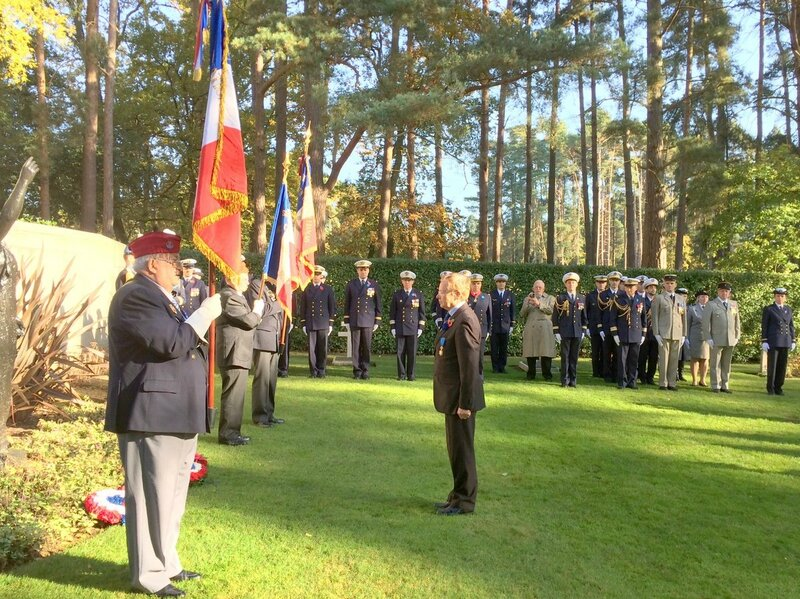 elvington Brookwood Wreath laying 2