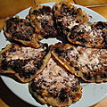 beignets de myrtilles