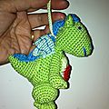 mini dragon profil droit