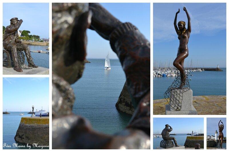 Le pêcheur et l'ondine Quiberon