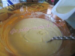 Gateau au yaourt , lemon curd & framboises13