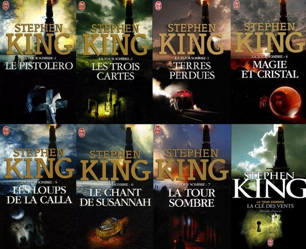 La tour sombre - Tome 1 à 8 - Stephen King