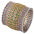 Buccellati. 'bracelets de rêves' collection.