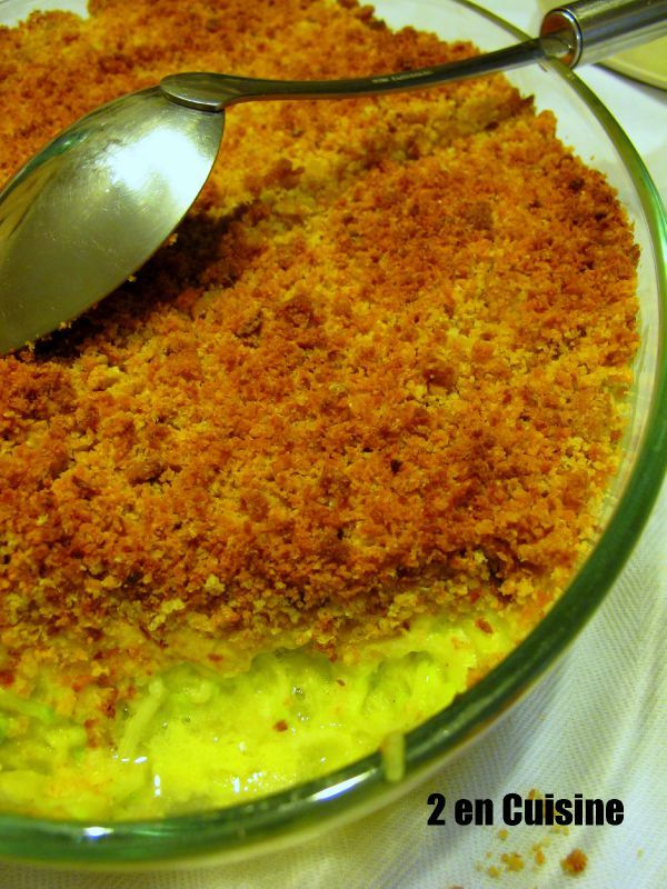 courgettes curry en crumble de pois chiches 1