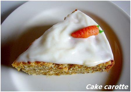 Cakes aux carottes