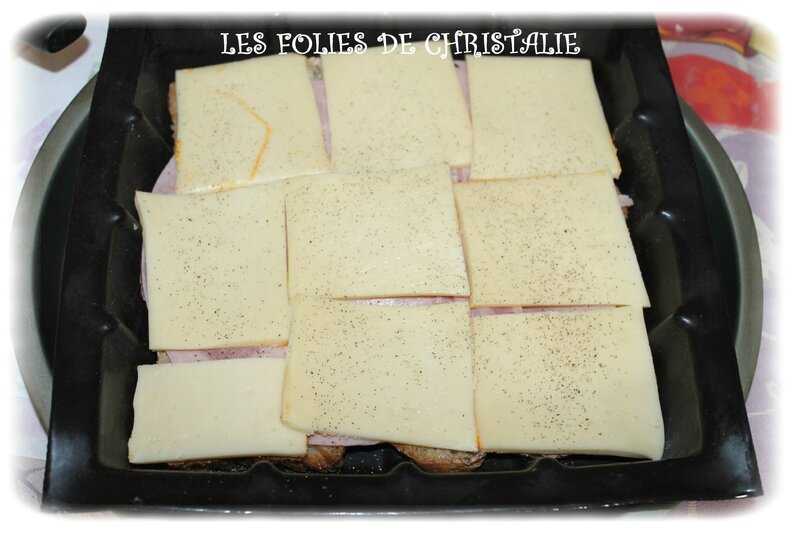 Croque cake raclette 5