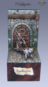 Maitre chien peint par Crackpot 01