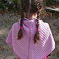 1er châle au tricot....