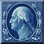 1357016436_3173_US Postage Stamp, Washington Franklin 1917 issue image