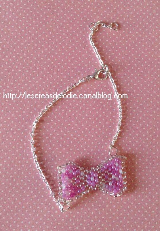 bracelet chaine noeud
