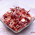Salade d'hiver vitaminée et colorée