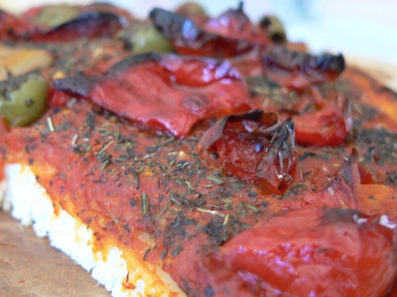 pizza légumes hiver