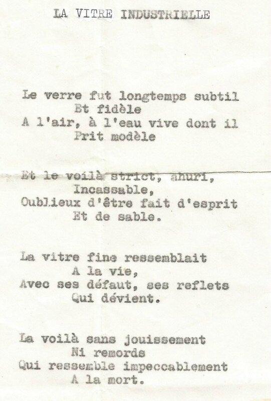 Poème Lucienne Desnoues