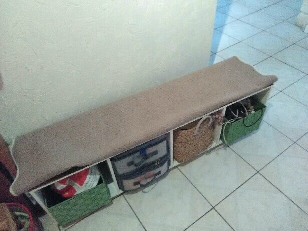 fabriquer un meuble de rangement pour l 39 entr e les astuces et d co de coco. Black Bedroom Furniture Sets. Home Design Ideas