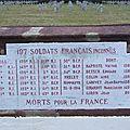 Ossuaire Ménil-sur-Belvitte