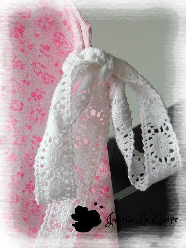 Marlee Top fleurs rose fluo 3