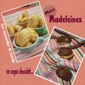 Mini madeleines coque choco