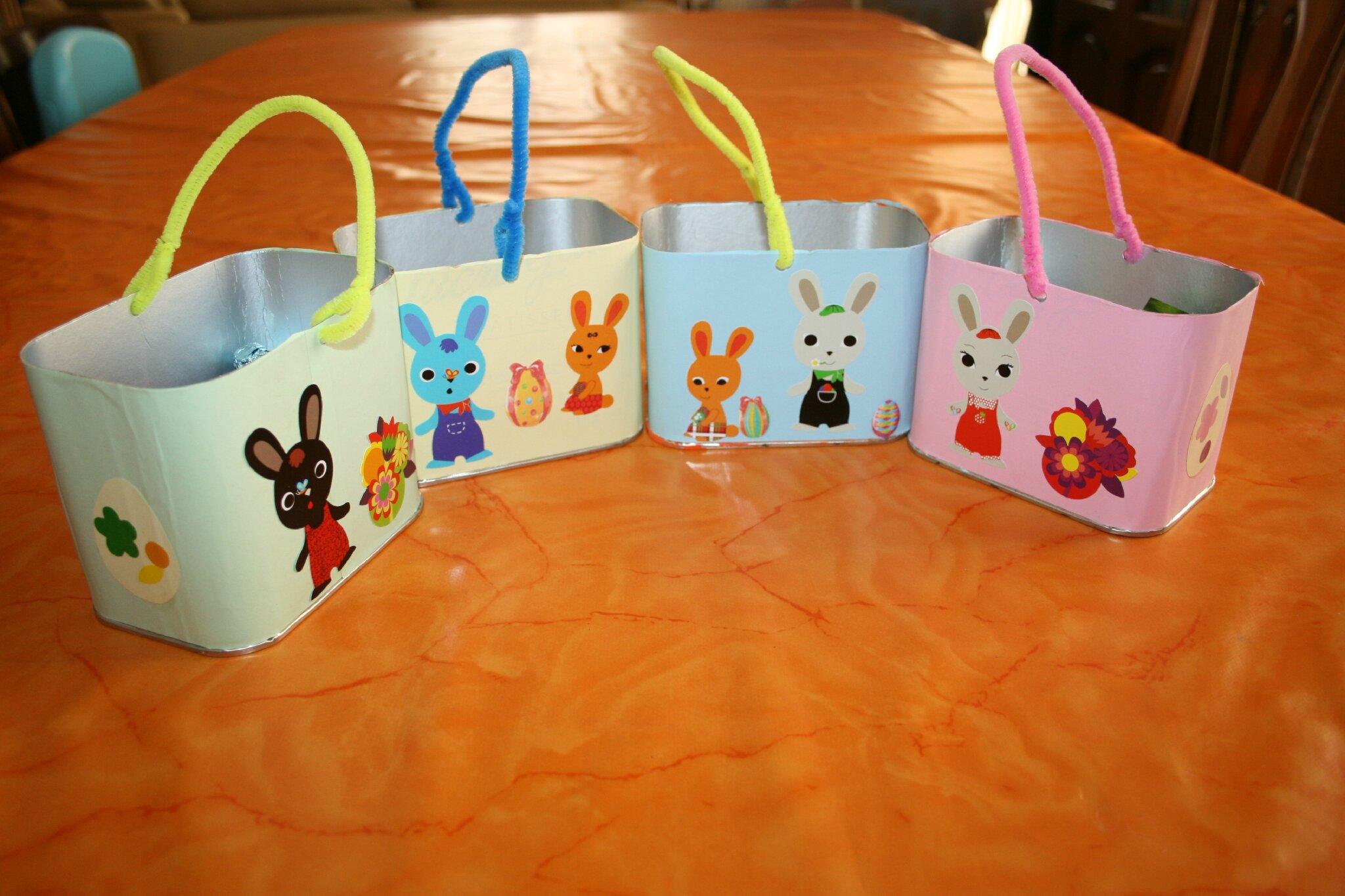 Bricolage panier de paques fashion designs - Bricolage enfant paques ...