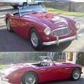 AUSTIN HEALEY - 100-6 - 1959