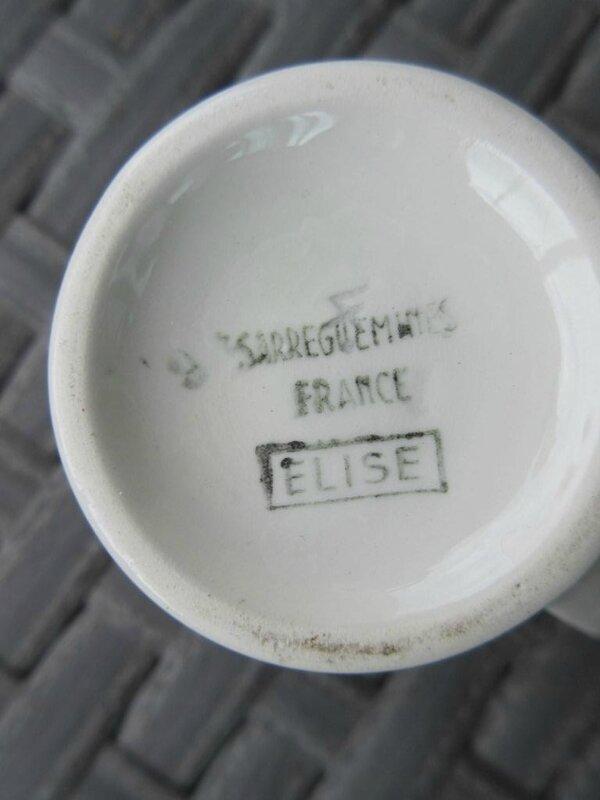 ELISE pot a lait dessous