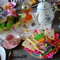 Pques sous le signe d'Alice au pays des merveilles - Easter mad hatter tea party