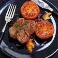 Paupiettes de boeuf et tomates aux cèpes