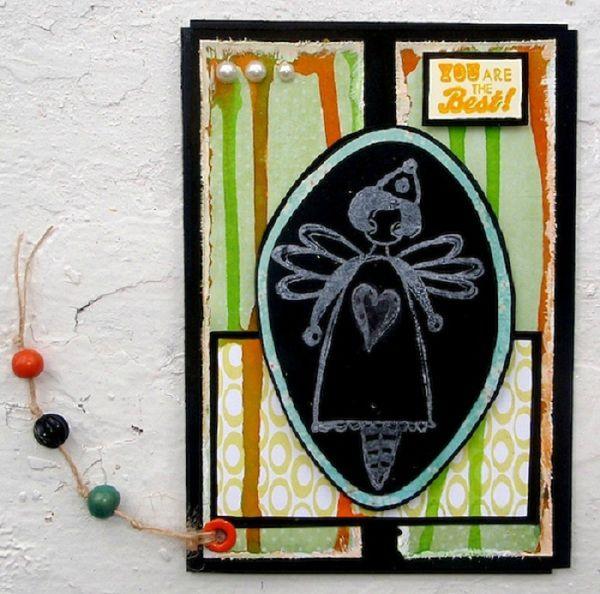 Carte Bac Tony Juillet 2012 Atelier à Scrap