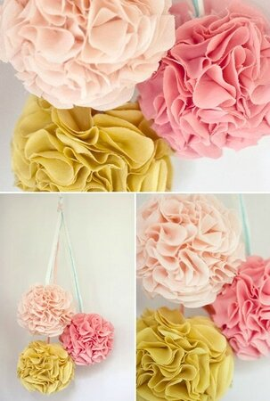 decorations-pompons-salle-de-reception