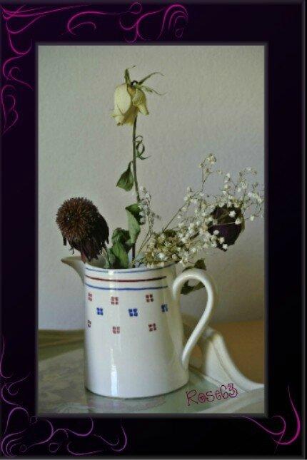 Mon bouquet dleurs séchées Rose63