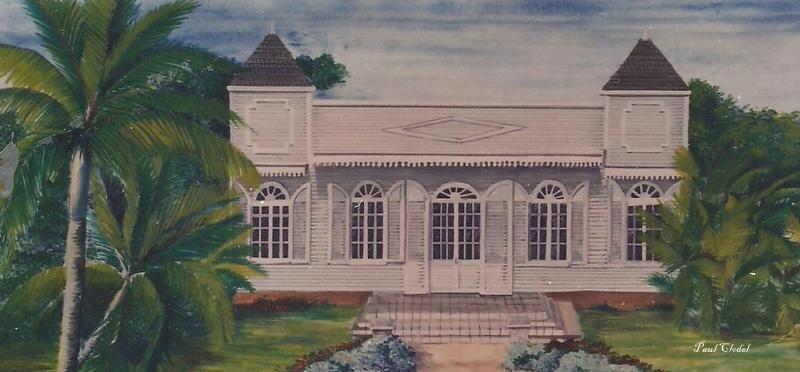 L 39 histoire de la case en paille vers 1665 1950 par - Construction maison ile de la reunion ...