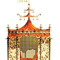 Chinese tent for trianon versailles