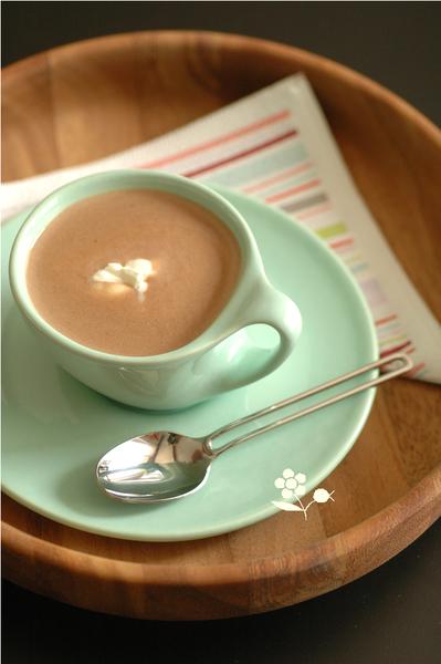 Chocolat chaud, châtaigne & lait de coco_1