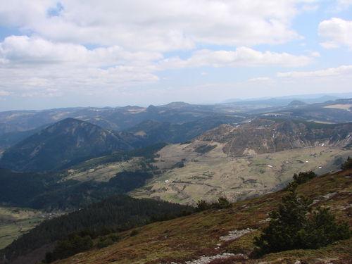 2008 04 24 Paysage depuis le sommet du Mont Mézenc (3)