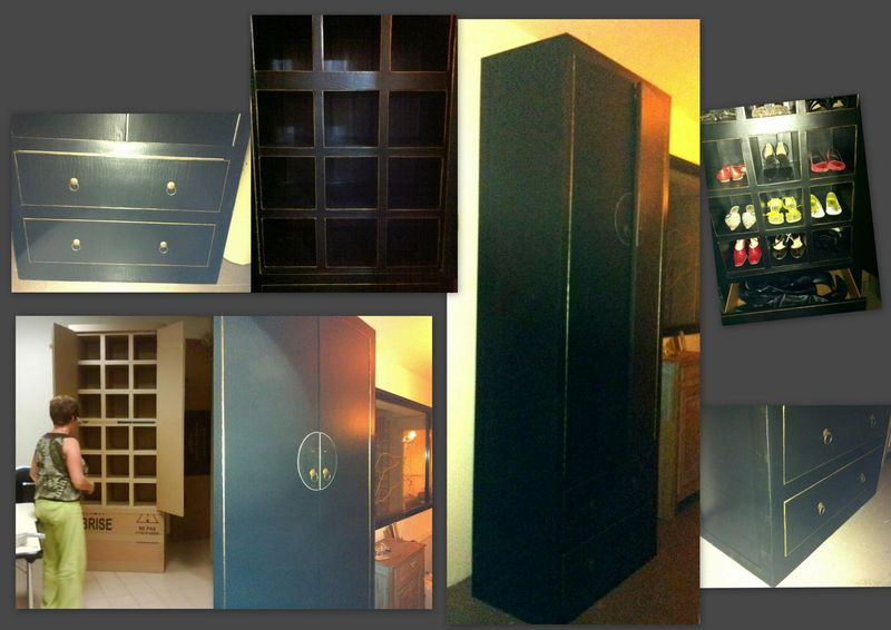 armoire pharmacie f e en carton. Black Bedroom Furniture Sets. Home Design Ideas