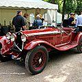 Alfa romeo 1750 GS Zagato de 1933 (9ème Classic Gala de Schwetzingen 2011) 01