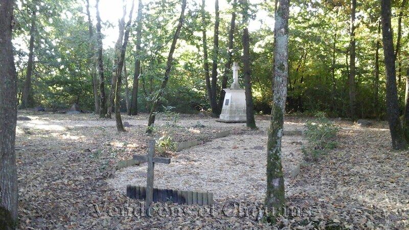 Le Mémorial des fusillés de Bournan, près de Saumur