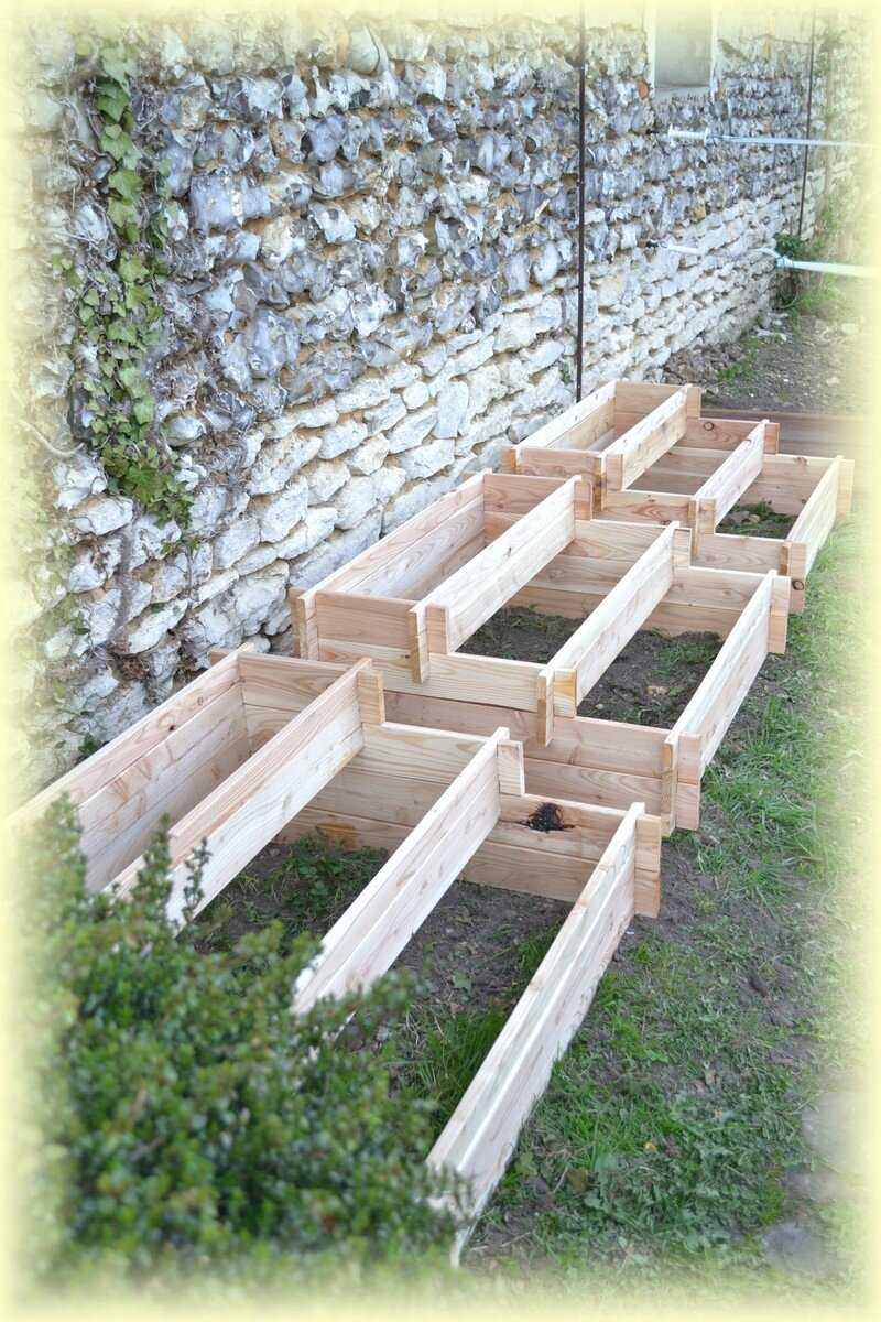 pin carr 233 potager en escalier on