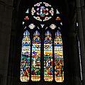 Vitraux de l'église saint-andré de lyon