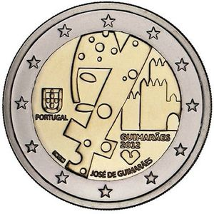 2 Euros commemorative Portugal 2012 - Piece neuve UNC