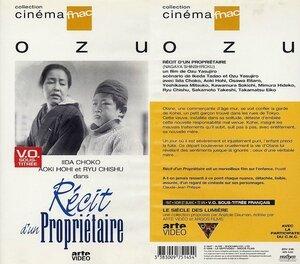 CanalBlog Cinéma Ozu K714 Récit D Un Propriétaire