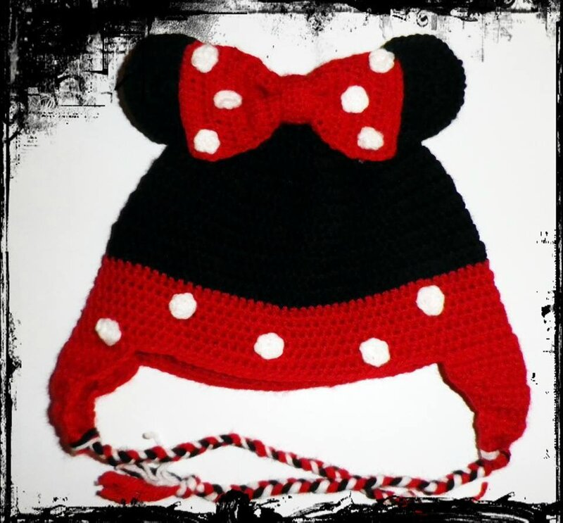 modele tricot bonnet hello kitty