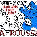 ps hollande humour calais casevide immigration