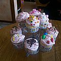 Cupcakes légers et glaçage mousseux